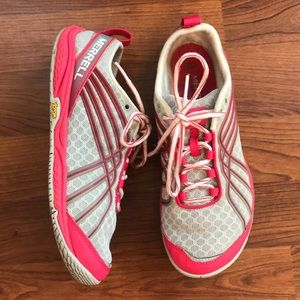 Merrill M-Connect Vibram Running Shoe Size 6.5